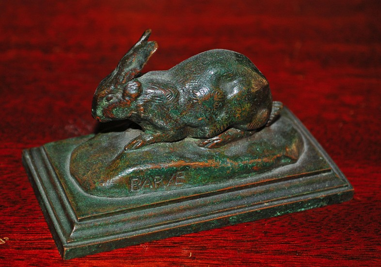 Barye, Rabbit Bronze